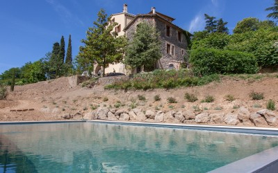 Orvieto Villa with Pool and Views Over the Town