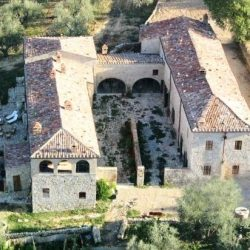 Val D'Orcia Estate with Organic Farm and Apartments (51)
