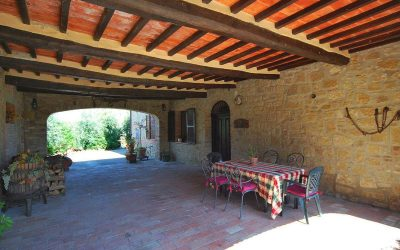 Val D'Orcia Farmhouse with Annex near Town