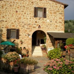 Restored Val D'Orcia Farmhouse with Pool and Olives Image 30