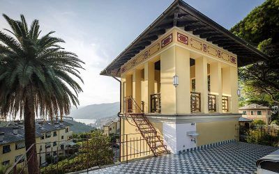 Ligurian Coast Villa in Camogli with Sea Views