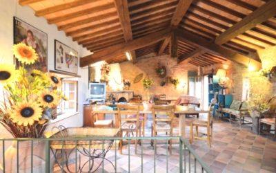 Restored Radicondoli Barn with Private Garden