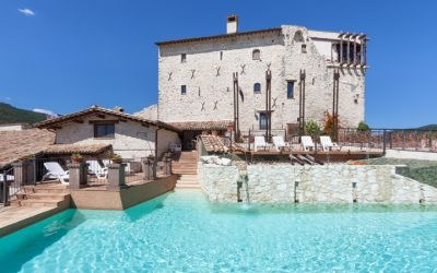 Historic Castle with Pool near Spoleto
