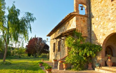 Montepulciano Farmhouse with Views of the Town