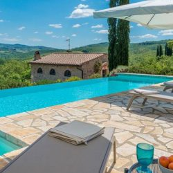 Restored Chianti Barn with Private Pool at 50028 San Donato FI, Italy for 650000