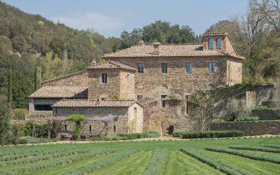 Perfect Restored Frantoio near Montalcino