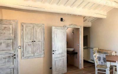 Newly Restored Cortona Apartment with Views