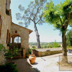 Ancient Villa With Pool Overlooking Asciano, Siena 46