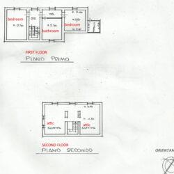 First - Second floor