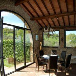 Montespertoli Restored Barn with pool (10)