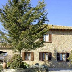 Val d'Orcia Farmhouse with Pool for Sale image 1