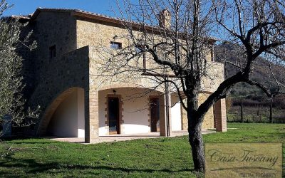 Newly Restored Val d'Orcia Property