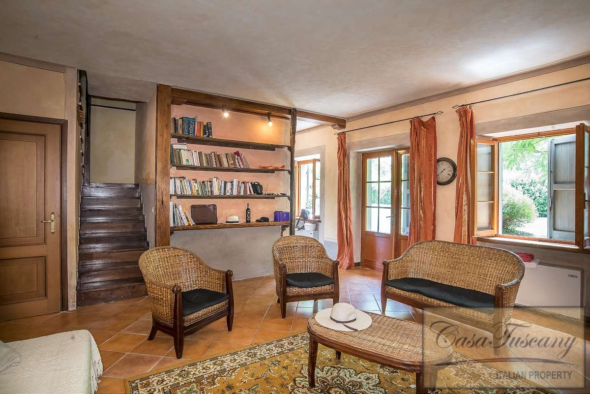 Restored Mill With Annexes Pool And 9 Ha Casa Tuscany