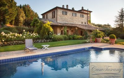 Luxurious Villa with Pool near Todi for Sale