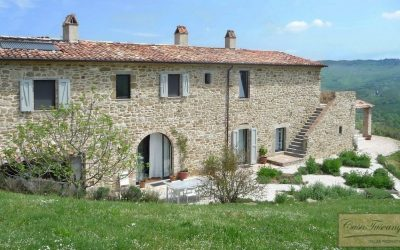 Stunning Umbrian Farmhouse with Pool for Sale