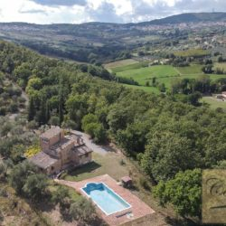 Hilltop Farmhouse Property with Olives near Montepulciano 10