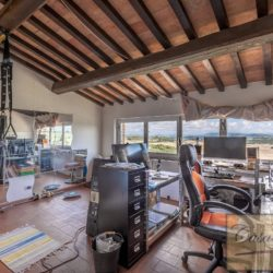 Hilltop Farmhouse Property with Olives near Montepulciano 17