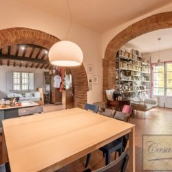 Hilltop Farmhouse Property with Olives near Montepulciano 14