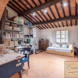 Hilltop Farmhouse Property with Olives near Montepulciano 21