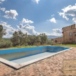 Hilltop Farmhouse Property with Olives near Montepulciano 3