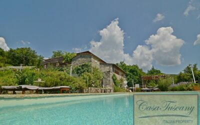Restored Chianti Farmhouse with Infinity Pool