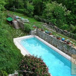Restored Country House with Outbuildings + Pool 28