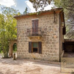 House with Olives and Vineyard near Montepulciano 2